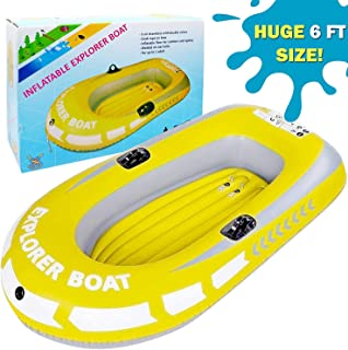 Amazon.es: barcas hinchables piscina