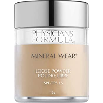 Physicians Formula Spf 16 Mineral Wear Loose Powder, Creamy Natural, 0.42 Ounce
