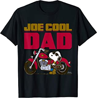 Peanuts Snoopy Joe Cool Dad Motorcycle