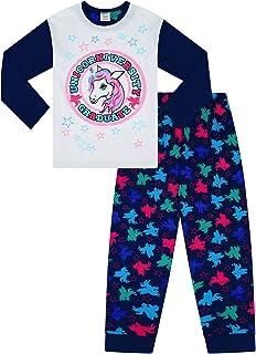 The PyjamaFactory Pigiama Lungo da Ragazza Drama Llama Rosa Pj 9-16 Anni