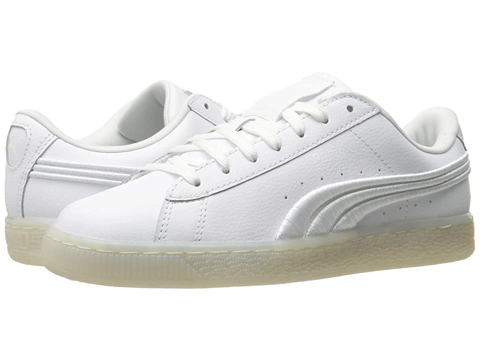 PUMA Basket Classic Badge Iced (Puma White) Men