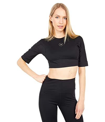 adidas by Stella McCartney Tst Crop GL7378 (Black) Women