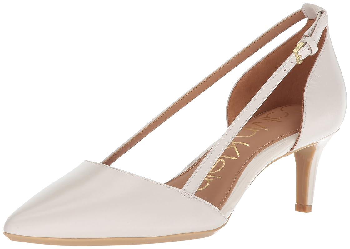 生き物脚怒って[Calvin Klein] レディース US サイズ: 9.5 B(M) US カラー: ホワイト