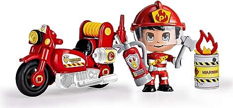 Pinypon Action - Moto de Bombero con 1 figurita, para niños y niñas de 4 a 8 años (Famosa 700014783) , color/modelo surtido