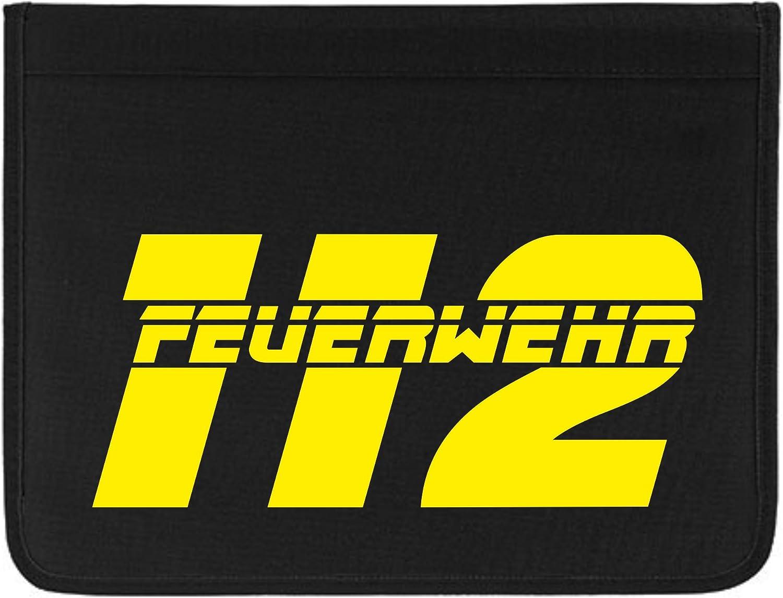 Hochwertige Feuerwehr Schreibmappe Organizer Konferenzmappe Feuerwehr 112 B071XHJDHK | | | Verrückter Preis  e08b84