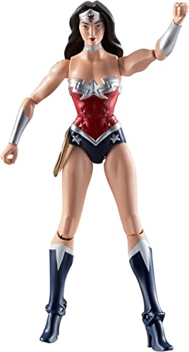DC Comics Total Heroes Wonder Woman 6 Action Figure by Mattel
