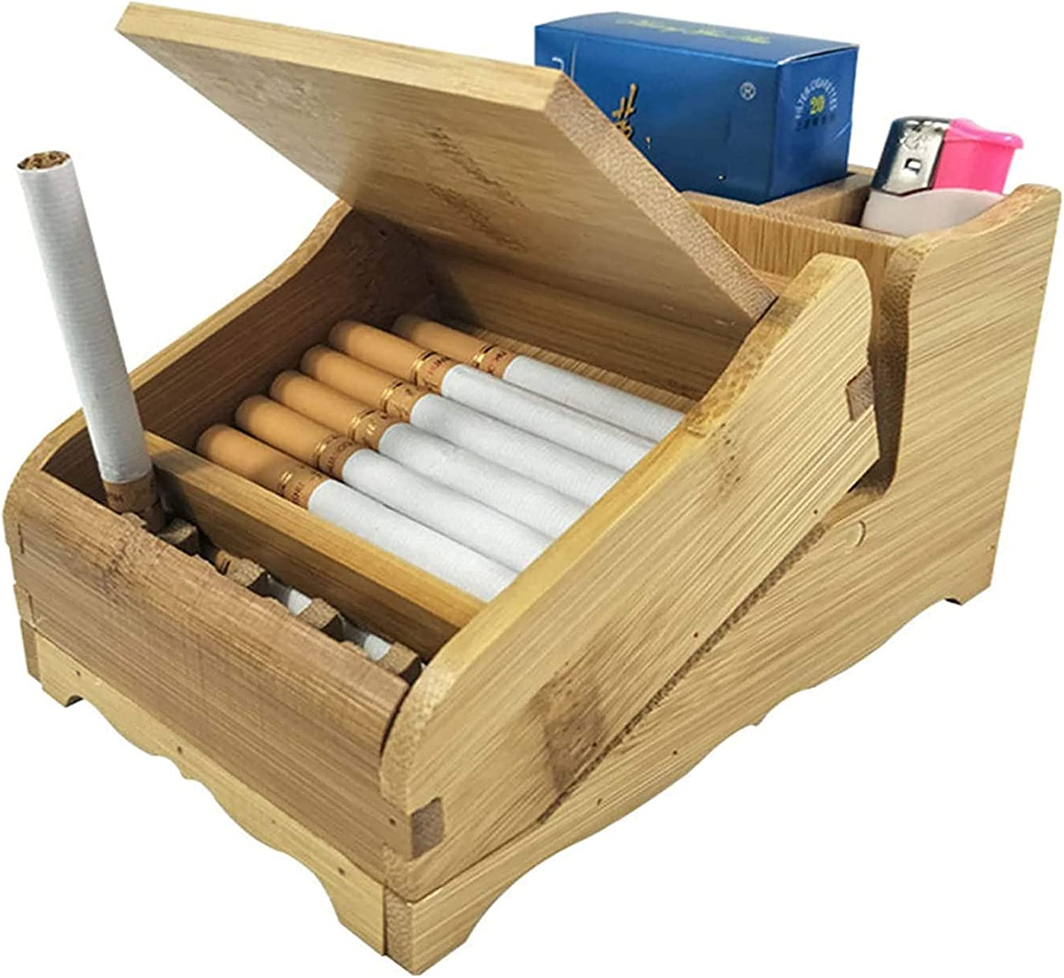 FGDFGDG 20 Sticks of Wooden 1 Portland Mall year warranty Cigarette Pop-up Automatic