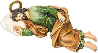 Joseph Studio Saint Joesph Sleeping Resin Religious Statue, 8 1/4 Inch