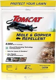 Tomcat BL34784 Mole & Gopher Repellent Granules, 4 lb