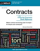 Contracts: The Essential Business Desk Reference (Contracts : the Essential Business Desk Reference)