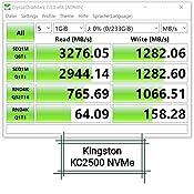 Kingston Kc2500 Nvme Pcie Ssd Skc2500m8 500g M 2 2280 Computers Accessories
