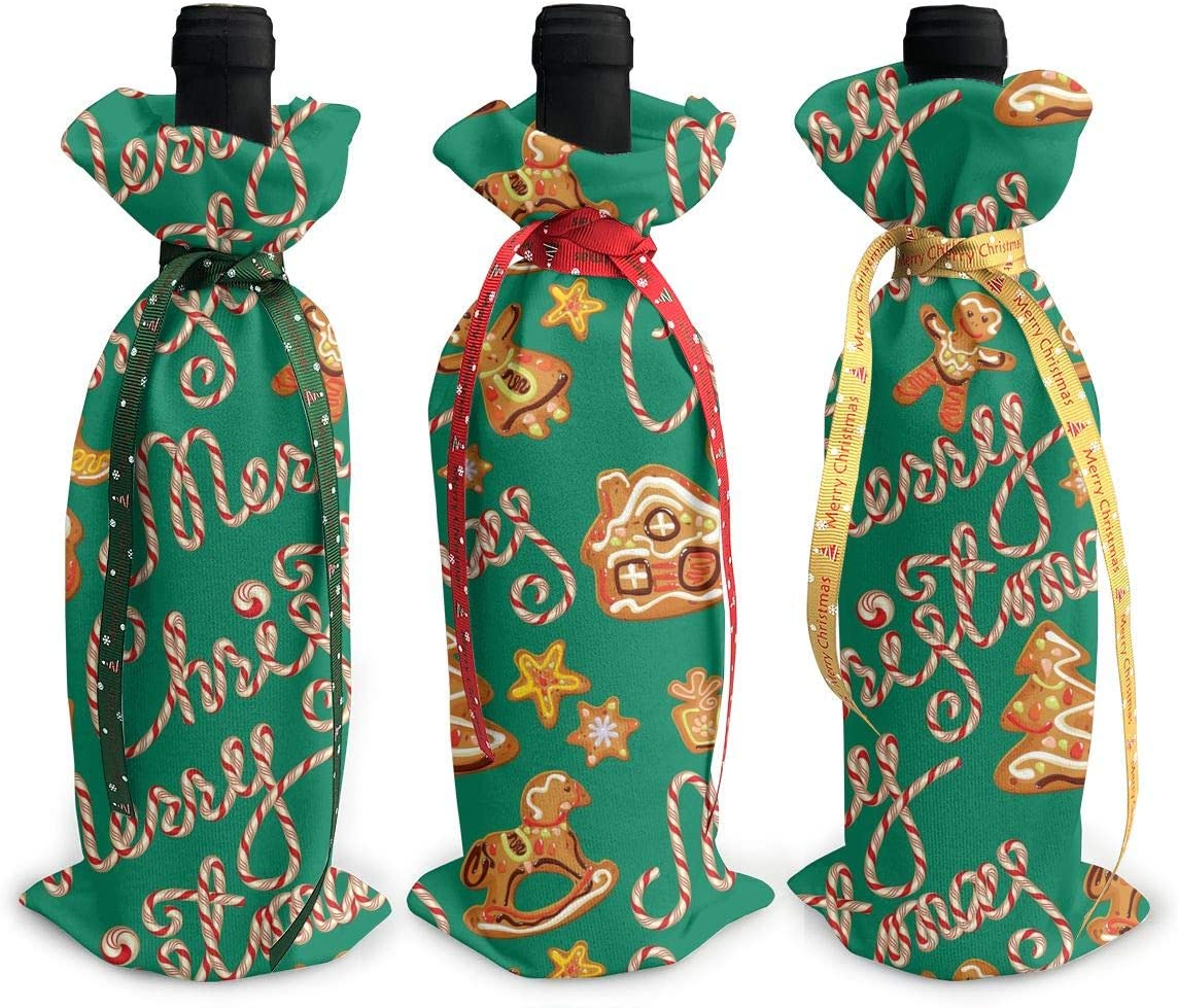 Green Gingerbread Man Candy Canes Christmas3Pcs R 1 year warranty Christmas New arrival Xmas