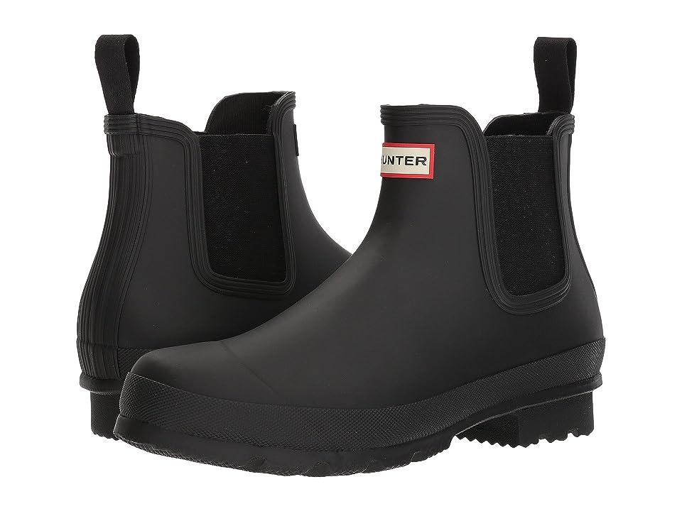 Hunter Original Chelsea Boot (Black) Men