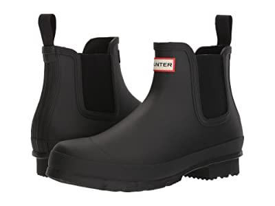 Hunter Original Chelsea Boot (Black) Men