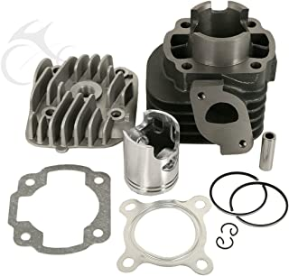 XFMT Cylinder Rebuilt Engine Top End Kit Compatible with Polaris Scrambler Predator 50 50cc ATV