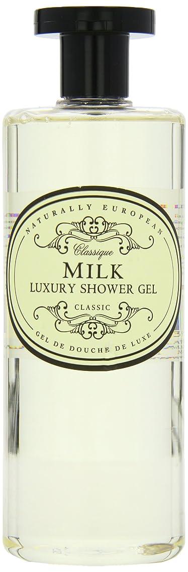エレクトロニックチャンバージャンプするNaturally European Milk Luxury Refreshing Shower Gel 500ml