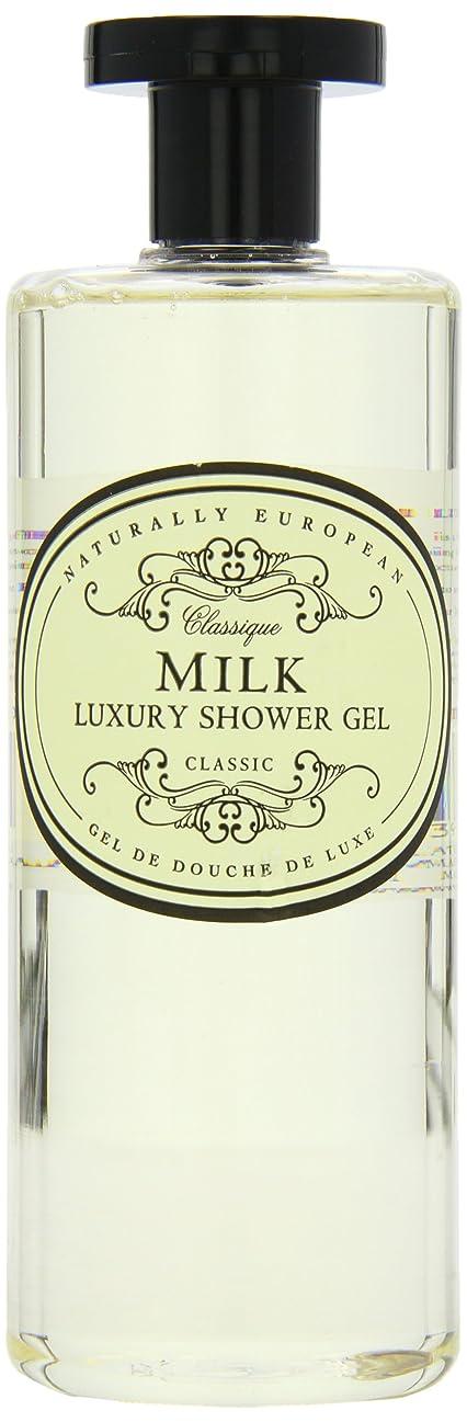 うねるラインジャムNaturally European Milk Luxury Refreshing Shower Gel 500ml