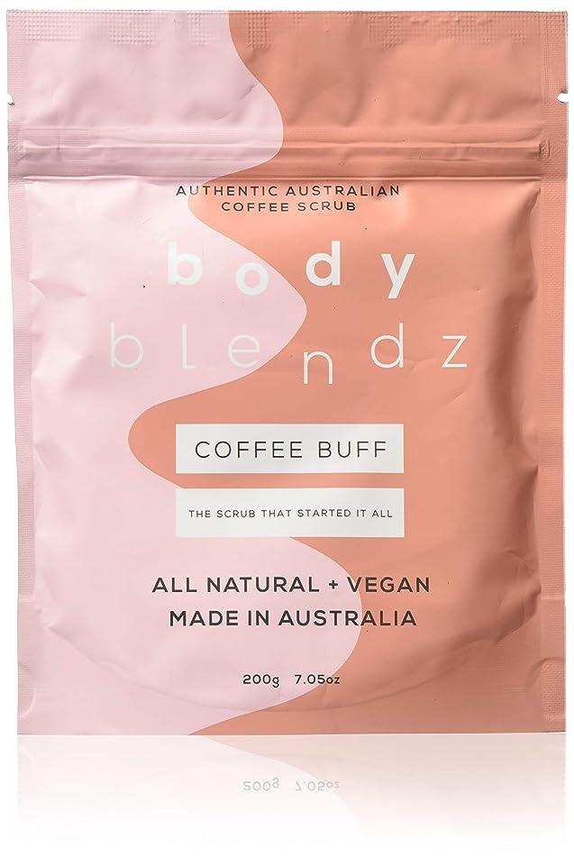 BodyBlendz Coffee Buff Coffee Body Scrub for Women, 7 oz