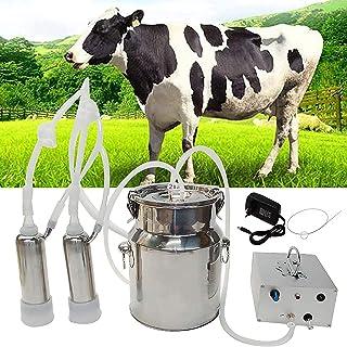 XDXDO Machine à Lait électrique de la Machine de chèvre, kit de Machine à Traiter de Lait à la Vitesse réglable à la Vites...