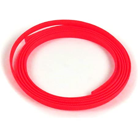 Keep It Clean KICWFARB3X00L001 Wire Loom 3 Red and Blue Ultra Wrap Wire Loom - 1 Foot