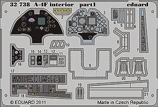 A-4F Skyhawk Photo Etch Cockpit Details for Trumpeter (1/32 kit accessory, Eduard 32738)
