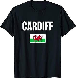 Cardiff City T-shirt Wales Y Ddraig Goch