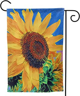 Sunflower Garden Flag Flowers House Flag Vertical Double Sided Yard Outdoor Decor Party 12.5 X 18 Inch