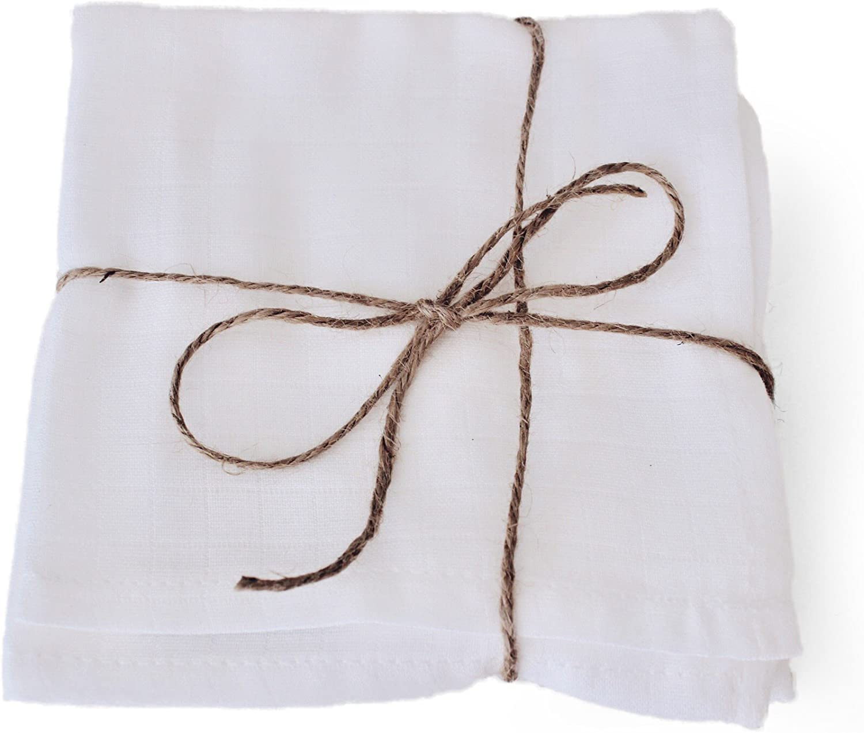 Love Hyggie   21 organic cotton muslin cloth washcloths perfect ...