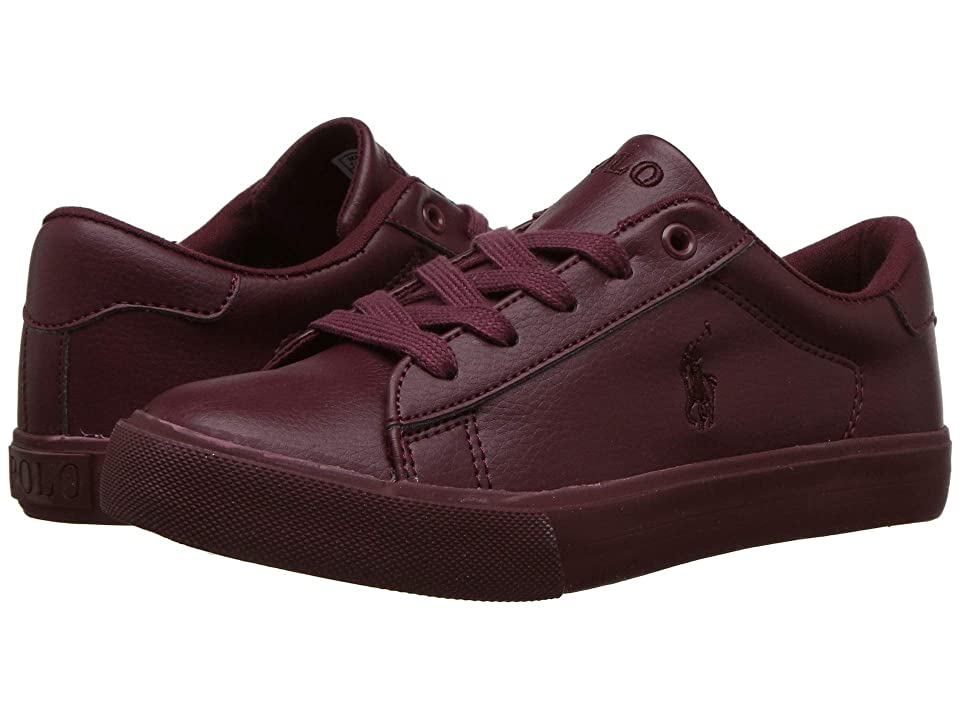 Polo Ralph Lauren Kids Easten (Little Kid) (Triple Burgundy Tumbled) Kid