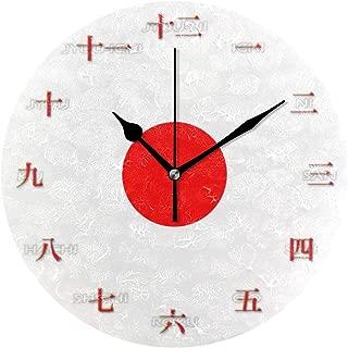 MIKA 置き時計 掛け置き両用 卓上 時計 おしゃれ 壁掛け時計 モダン アート インテリア ウォールクロック 壁時計 新生活 置時計・掛け時計 日本 数字 大きい