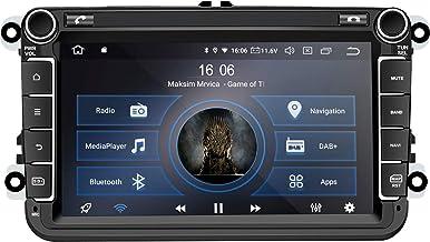 M.I.C. AV8V6 Android 10 Autoradio Radio Navigationssystem:DSP DAB digitalradio BT 5.0 WLAN 8 Zoll IPS Panzerglas Bildschirm AHD 4G64G USB sd GPS Tuning für VW Skoda SEAT Polo Golf Passat touran t5