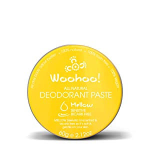 Woohoo! Body All-Natural Deodorant Paste (Mellow, 2.12 oz Tin)