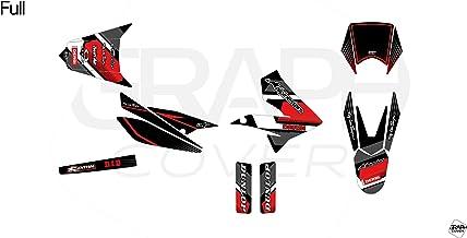 Kit carenages Derbi Senda DRD Xtreme 2011-2015 Noir