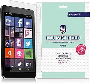 iLLumiShield Matte Screen Protector Compatible with Dell Venue 8 Pro 5855 (2-Pack) Anti-Glare Shield Anti-Bubble and Anti-Fingerprint PET Film