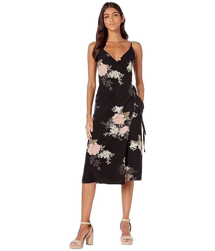 Bishop + Young Florentina Wrap Dress (Black) Women