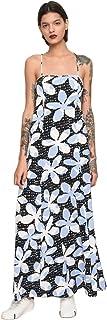 A|X Armani Exchange Women's Tropical Tie Back Dress