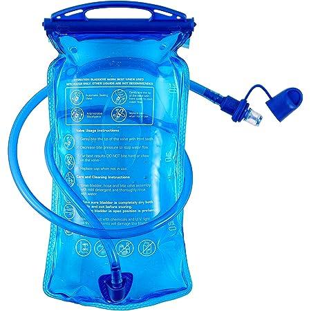 Hydration Bladder, 3 L 2 L 1.5 L Water Bladder BPA Free, 3 Liter Large Opening Water Reservoir, Leak Proof Military Water Storage Bladder Bag for Cycling Hiking Camping Biking Running (1.5L)