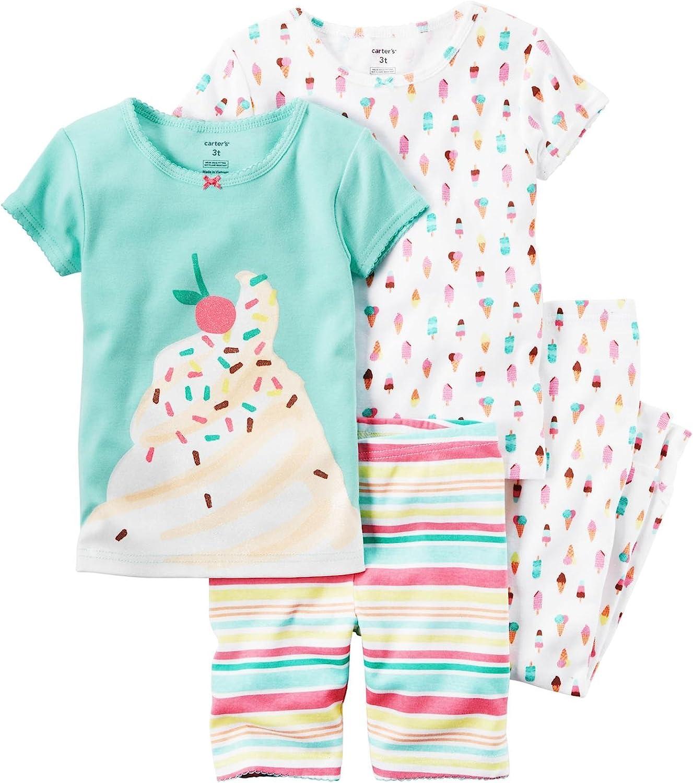 Carter's Baby Girls' 4 Pc Cotton 331g232