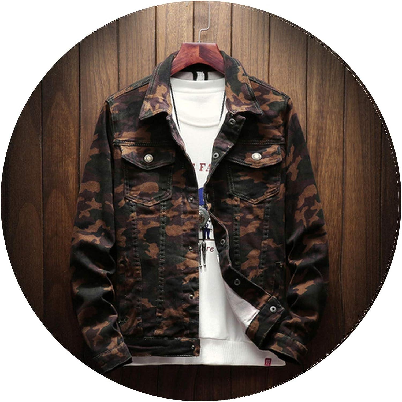 3f7fd8ed9d1 Betterluse New Men's Fashion Business Casual Long Sleeve Loose Lapel Lapel  Lapel Large Size Denim Jacket 37d2b8