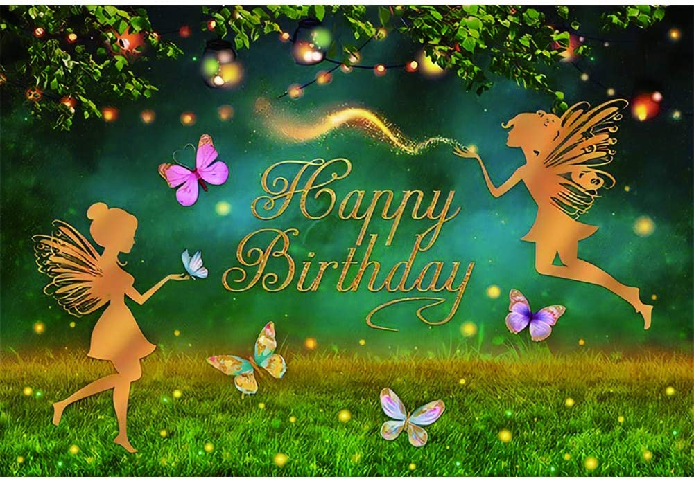 Canessioa Fantasy Fairy Max 75% OFF sold out Birthday But Backdrop 10x6.5ft Beautiful