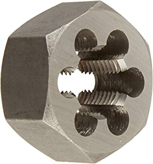 Drill America #10-32 Carbon Steel Hex Rethreading Die, DWT Series