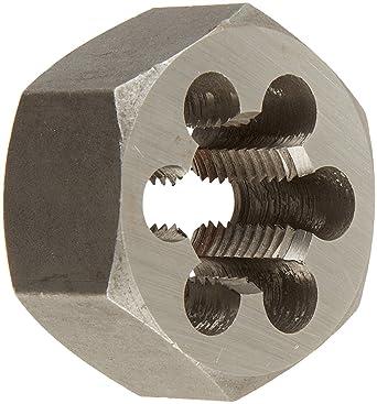 DWT Series Drill America #8-32 13//16 OD High Speed Steel Left Hand Round Adjustable Die
