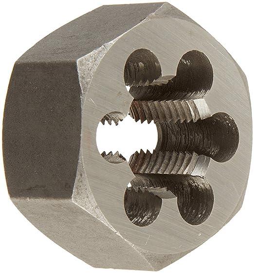Import Hex Re-Threading Die Left Hand 7//16-14 Carbon Steel