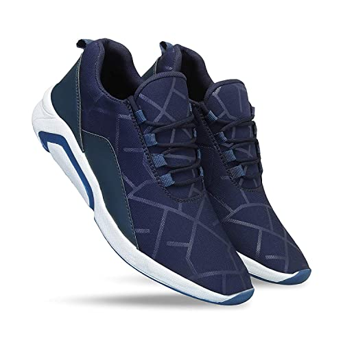 Buy WORLD WEAR FOOTWEAR Men Blue-1244 Sports Shoes, Running Shoes for Men,Cricket  Shoes,Casual Shoes,Trekking Shoes,Comfortable for Men's at Amazon.in