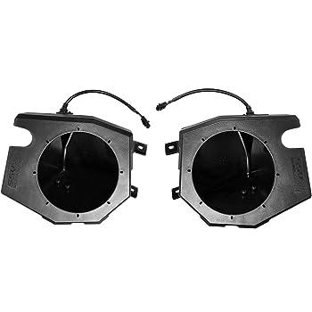 Rockville RockZR 6.5 Kick Panel Speaker Pods For 2015-2018 Polaris RZR XP TURBO