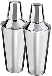 nu steel TG-CS-2/2 MINI COCKTAIL SHAKER S/2, Shiny