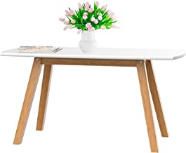 bonVIVO White Coffee Table Franz - Designer Coffee Tables for Living Room and End Table That can be Used as Side Table, Wo...