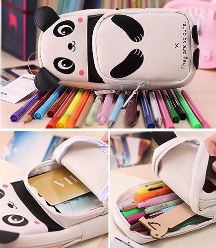 Federm chen, Muamaly Cute Kawaii 3D Panda Studenten M chen Kinder Schulm chen Für mädchen, Junge