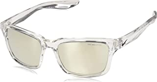 Nike Men's EV1004 900 Square Sunglasses, Transparent, 57 mm
