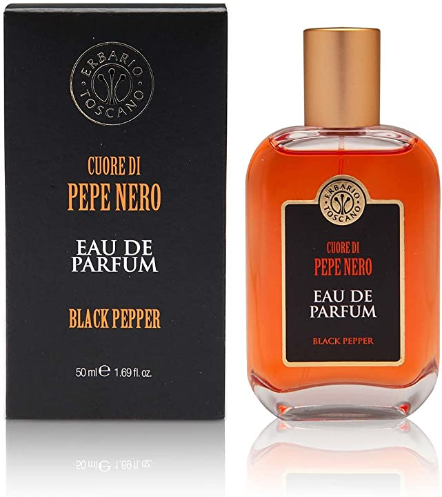 Erbario toscano armonie dei sensi - eau de parfum cuore di pepe nero 50 ml PPR55